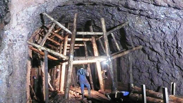 Rekonstrukce původní důlní výdřevy