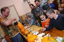 Halloween s hasiči ve Žďáru u Staré Paky
