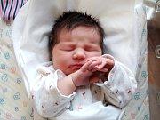 VERONIKA SEITLOVÁ se narodila 8. listopadu ve 20.48 hodin rodičům Zuzaně a Janovi. Vážila 3,33 kg a měřila 49 cm. Rodina bydlí ve Dvoře Králové.