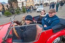Historická vozidla mají sraz v sobotu ve Dvoře Králové.