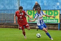 Fotbalisté Náchoda si doma nedokázali poradit s týmem Nového Bydžova.