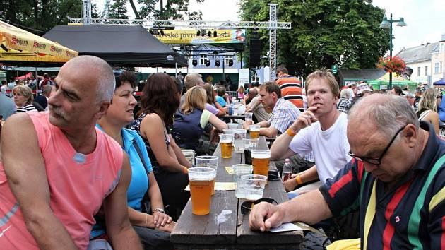 Pivní slavnosti ve Vrchlabí
