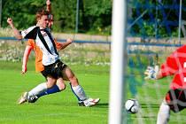 16. června se sehrálo poslední kolo krajského přeboru mezi FK Jiskra Mšeno a SK Semily na trávníku v Břízkách.