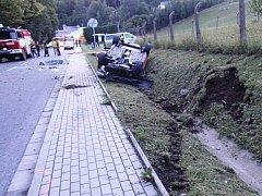 Smrtelná nehoda mezi Úpicí a Batňovicemi
