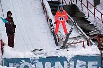 Skoky na lyžích - Tomeš cup 2010