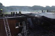 Nedělní požár v Trutnově zničil rodinný dům
