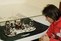 Výstava čokoládových výrobků v muzeu KRNAP v Jilemnici