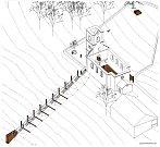 Vítězný návrh studenta 6. ročníku Fakulty umění a architektury Technické univerzity Liberec Daniela Hakulína.