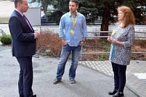 Trutnov navštívil poslanec Evropského parlamentu Miroslav Poche