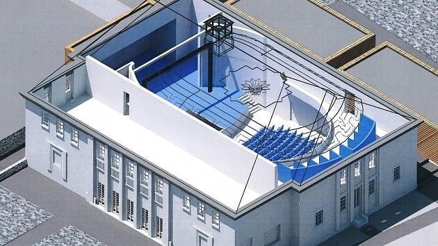 Budoucnost. Projekt Kulturně vzdělávacího centra počítá s vybudováním divadla i kina.