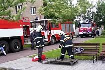 Nácvik hasičů