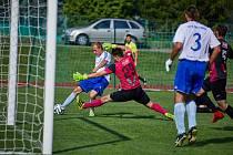 Fotbalisté Trutnova ve 28. kole Fortuna Divize C remizovali s týmem Čáslavi 1:1. Penaltový rozstřel vyšel lépe hostům.