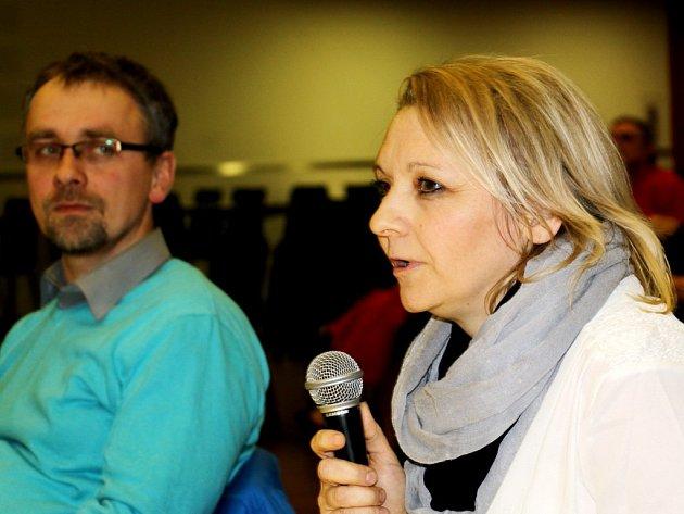 Kateřina Aichlerová vytkla radním, že nehledí na mínění občanů a problém s její restaurací stále oddalují.