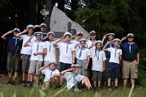 Skauti ze střediska Hraničář si užívali na čtyřech táborech.