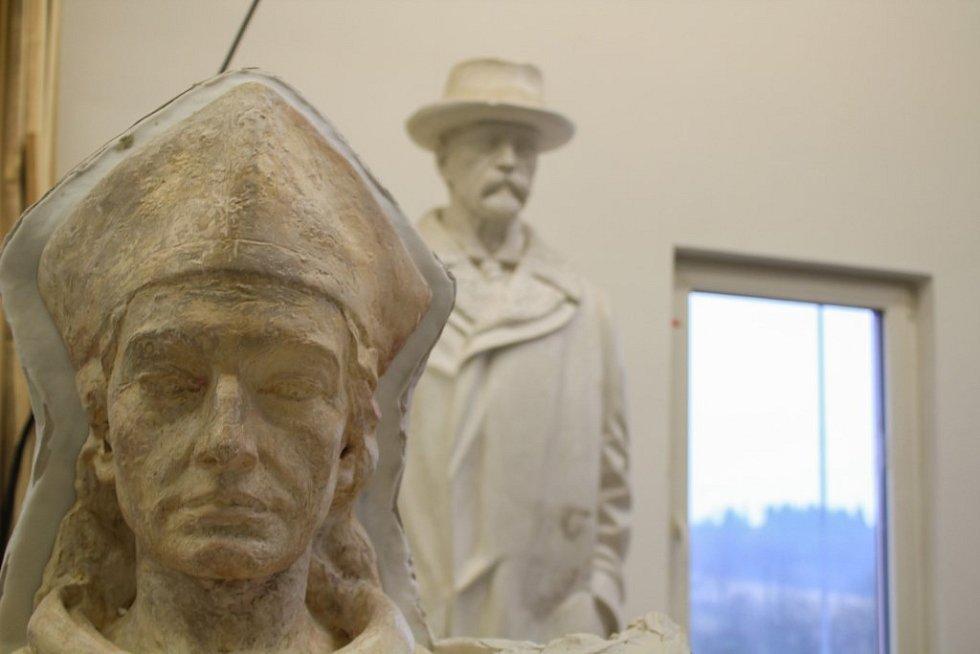 Sochy Tomáše Garrigue Masaryka