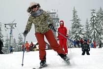 Černá hora - lyžování