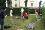 Výtvarná dílna Keramické školy Jarmily Tyrnerové v Hospitalu byla součástí Theatrum Kuks