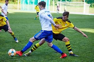 Fotbalisté Trutnova na domácím hřišti inkasovali debakl do Vysokého Mýta.