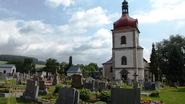 Kostel v Horní Branné
