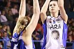 1. čtvrtfinále play off ŽBL: Kara Trutnov - BK Czech coal Aldast Strakonice.