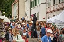 Žacléřské náměstí patřilo v pátek Dni lidových řemesel.