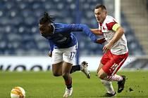 Pražská Slavia na hřišti Rangers FC zvítězila 2:0.