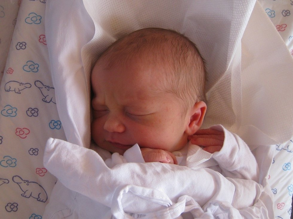 RADOVAN HORÁK se narodil 30. června v 17.44 hodin rodičům Lence a Tomášovi. Vážil 3,23 kg a měřil 50 cm. Spolu se sestřičkou Dorotkou mají domov ve Starém Rokytníku.