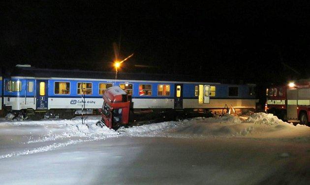 Nehoda vlaku vChotěvicích