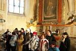 Svatá Kateřina se mračila, lidé za ní ale stejně přišli