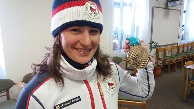 Veronika Vítková v Jilemnici.