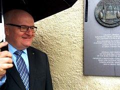 """Ministr kultury Daniel Herman ocenil v Kuksu českou památkovou péči. """"Je na špičkové světové úrovni,"""" řekl."""