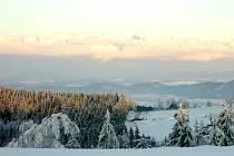 Krkonoše - zima