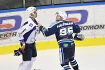 Pěstní souboje okořenily úterní přípravu hokejistů.