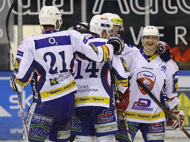 Hokejisté HC Vrchlabí.