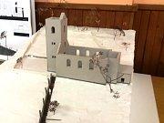 Studenti architektury Technické univerzity v Liberci navrhli způsob řešení obnovy evangelického kostela v Rudníku.
