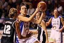 Trocal ŽBL, čtvrtfinále: Kara Trutnov - BK Lokomotiva Karlovy Vary.