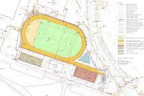 Sportovní areál u ZŠ R. Frimla v Trutnově projde velkou změnou. Do jeho opravy město investuje 17,5 milionu korun.