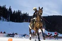 Koňské polo ve Špindlu
