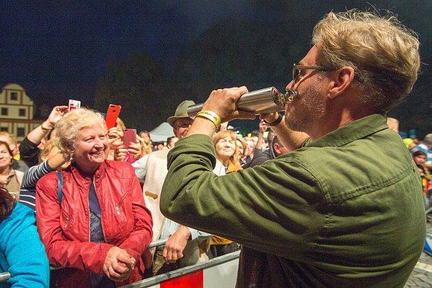 Vrchlabské náměstí TGM zaplnil 22.ročník Krkonošských pivních slavností.