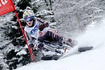 V krkonošských Pasekách se koná o víkendu finále Světového poháru v jízdě na skibobech.