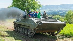 Vojenská vozidla na Stachelbergu 2019