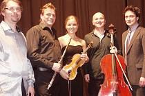 Kvarteto Ensemble Martinů i Saša Rašilov našli genia loci