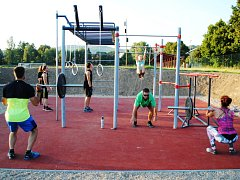 V Semilech už využívají workoutové hřiště