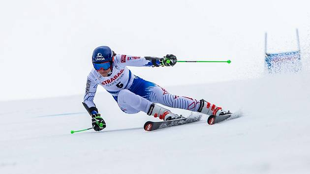 Petra Vlhová. Světový pohár v lyžování ve Špindlerově Mlýně