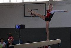 Týden po TeamGymovém mistrovství v Praze se gymnastky Spartaku Trutnov stačily přeorientovat na sportovní gymnastiku.