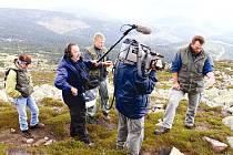 Natáčení na horách