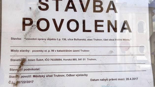 Šumná Vesna je mrtvá, i když jí už památkáři dali šanci