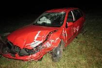 Šoféři bourali o prodlouženém víkendu pod vlivem alkoholu.