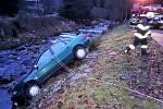 Nehoda v Peci pod Sněžkou