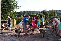 Lipnice má i díky RWE nové hřiště pro děti